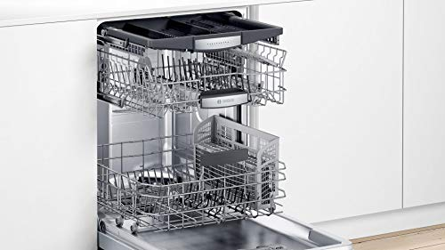 Bosch SHXM78Z55N 24' 800 Series Fully Integrated Dishwasher with 16 Place Settings, Flexible 3rd Rack, InfoLight and CrystalDry (Stainless Steel)