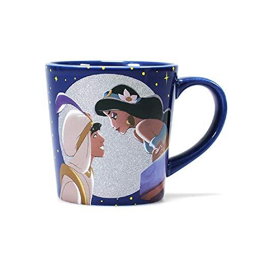 Half Moon Bay Aladdin Jasmine & Aladdin - Taza de caf, en caja de regalo