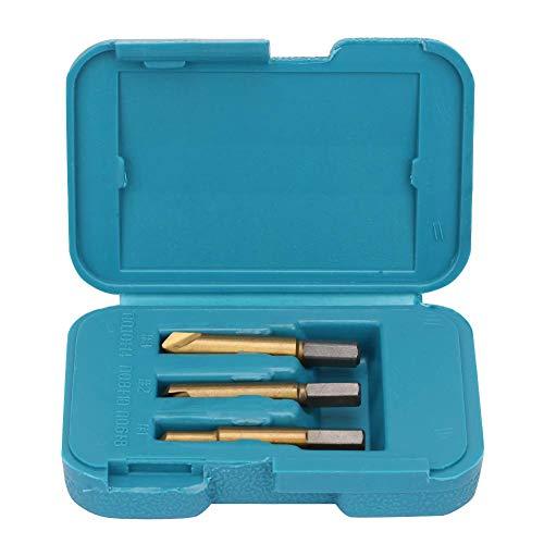 Extractores de tornillos, juego de 3 extractores de tornillo
