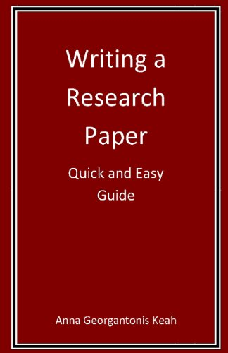 Writing a Research Paper: Quick and Easy Guide