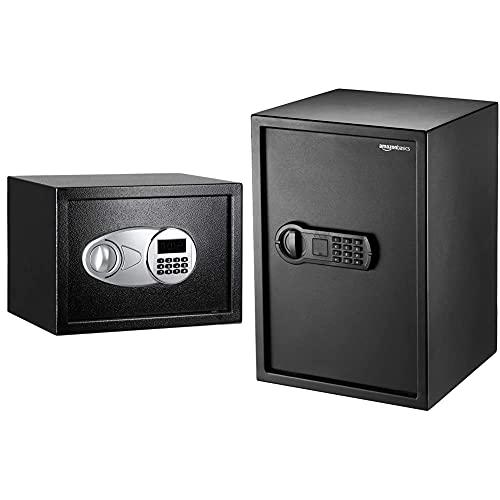 Amazon Basics Tresor, 14 l, Schwarz & Haussafe, 50 l