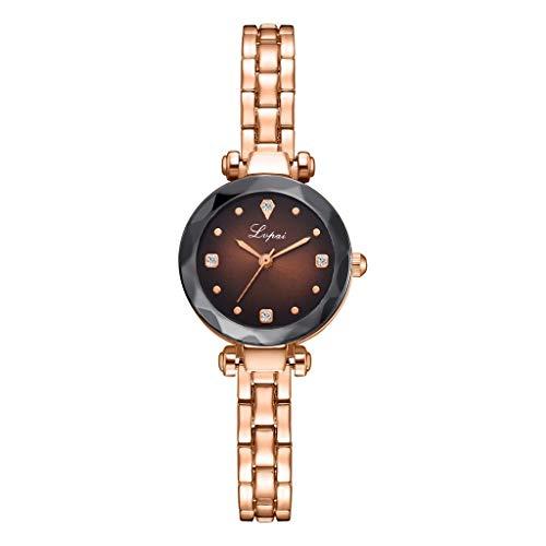 VIMI Relojes Ver Ultra Thin Relojes de Pulsera de Reloj del Brazalete de Diamantes con Acento de Muchachas de Las Mujeres Vestido de Las señoras Venda de Acero Inoxidable Mujeres Relojes de Pulsera