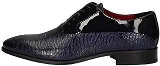 MARINI Derby - Zapatos elegantes para hombre CR1628 427, piel azul, original PE