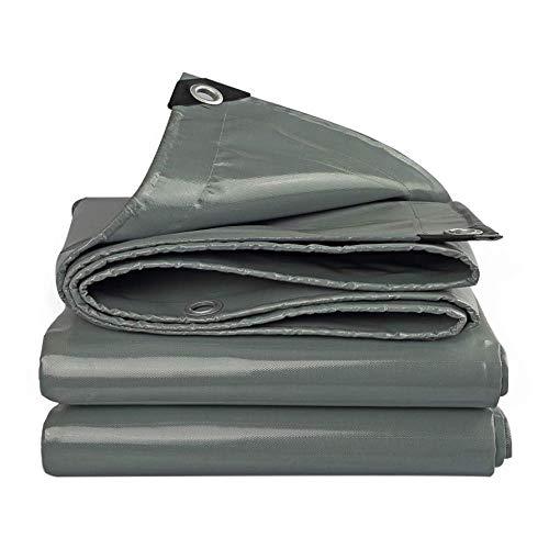 Fácil engrosamiento al aire libre impermeable tela de protección solar impermeable tienda de tela toldo Oxford lona cuchillo raspado molde portátil (tamaño: 6 x 8 m)