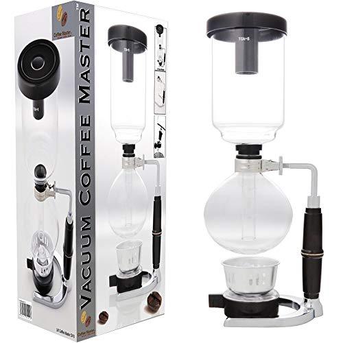 S4U Coffee Master 5-Cup Syphon/Vacuum Glass Coffee Maker (5-Cup Coffee Maker)