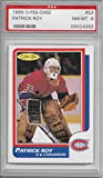 1986-87 O Pee Chee (Opc) Hockey Complete Set 264 Cards Patrick Roy Rookie Graded PSA 8. rookie card picture