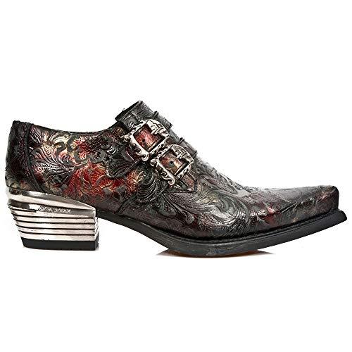 Zapatillas De Cuero De Nueva Rock Para Hombre M.7960-S5 40