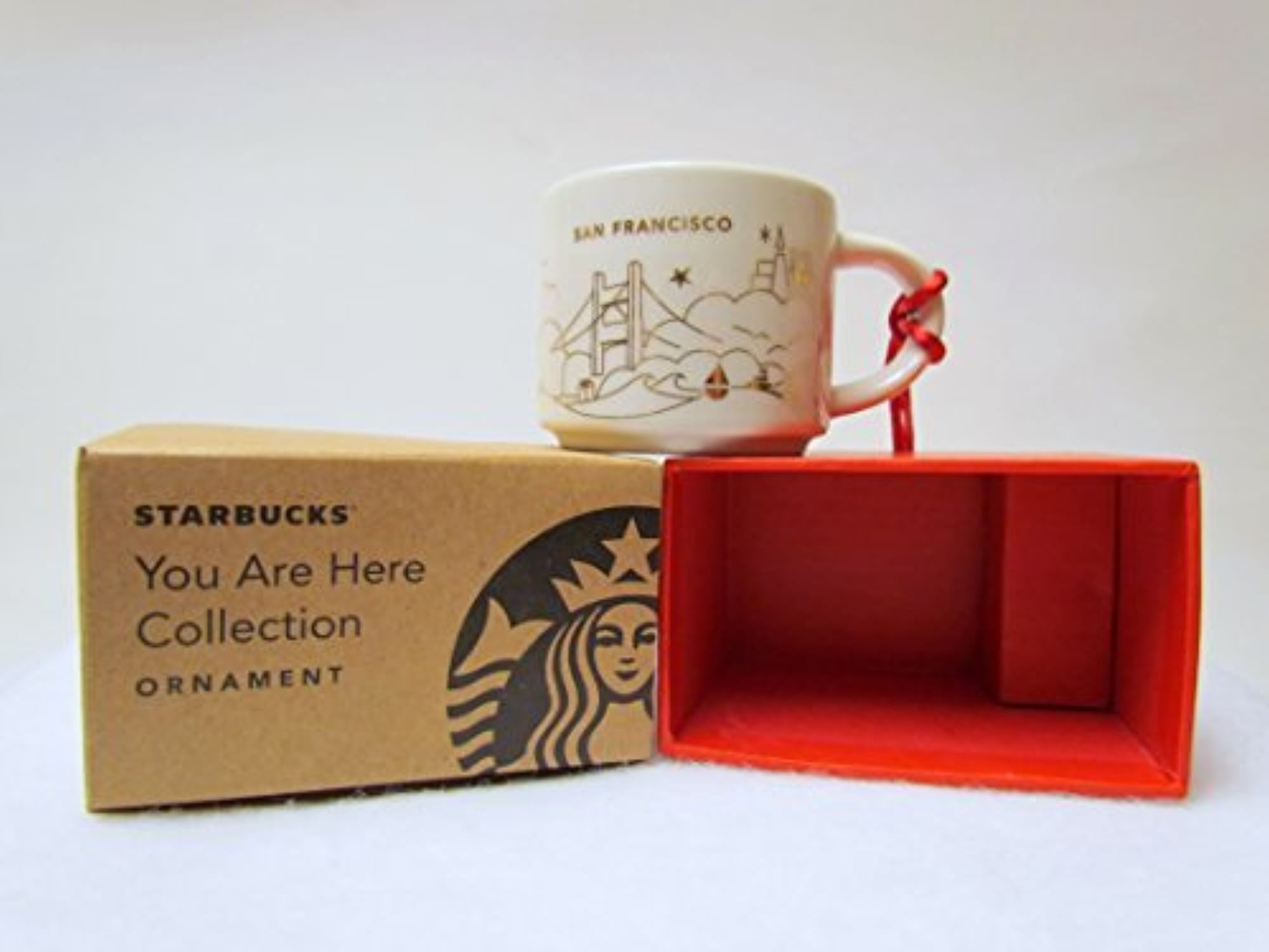 Starbucks San Francisco You Are Here Collection OrnaHommest by You Are Here Collection OrnaHommest