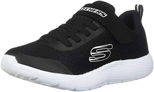 Skechers Kids Boy's Dyna - Lite (Little Kid/Big Kid) Black/White 2 Little Kid M