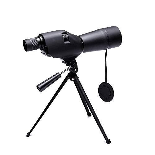 Binoculares para adultos, telescopio monocular 20-60X60, instrumento óptico, espejo con vista al aire libre, espejo para pájaros BAK4, telescopio doble enfoque para observación aves, camping, caza,