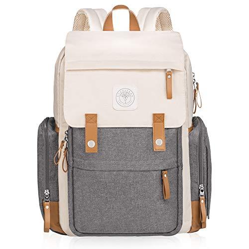Baby On-The-Go Diaper Bag Backpack by Huggleboo