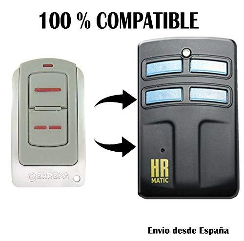 Mando duplicador HR Matic 2 Rolling Code Compatible Erreka Iris Sol Lira