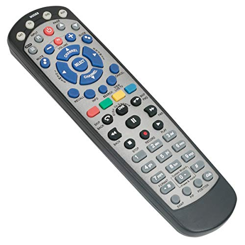 New Replacement Universal Standard IR Learning Remote Control Compatible with Dish 20.1 Network Satellite Receiver with TV SAT DVD AUX Mode