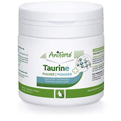AniForte Taurin für Katzen 100g – Zur Gesunderhaltung der Netzhaut, Für Immunsystem & Stoffwechsel, Erhaltung von Herzfunktion & Herzkreislaufsystem (100 g)