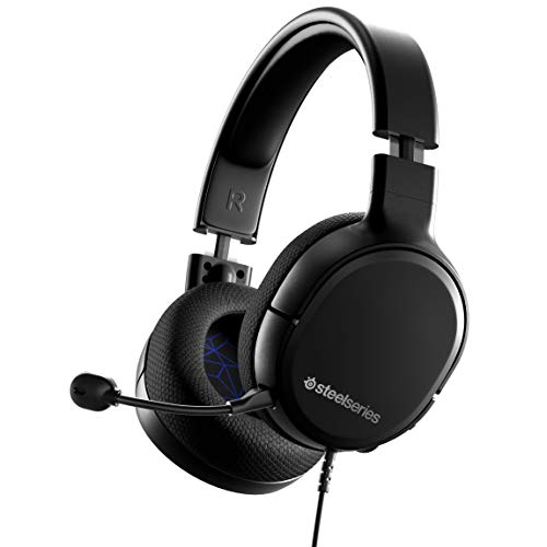 SteelSeries Arctis 1 Wired Gaming Headset – Detachable ClearCast Microphone – Lightweight Steel-Reinforced Headband – for PS5, PS4, PC, Xbox, Nintendo Switch, Mobile
