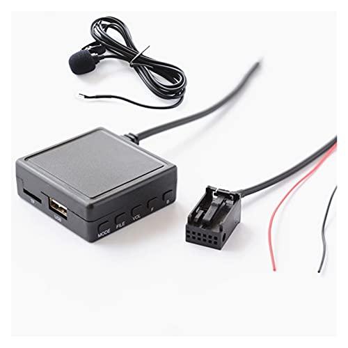 FSLLOVE Radio de Coche Bluetooth AUX USB Llamada telefónica a la Mano. Opel CD30 CD70 Adaptador de Cables estéreo AUX Inalámbrico Entrada de Audio inalámbrica