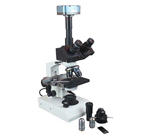 Radical Trinokular Mikroskop w Blut Samen Wasser Phase Kontrast und 3Mpix USB PC Live Kamera
