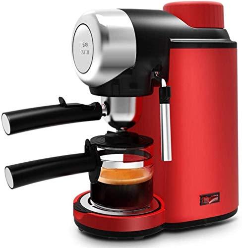 Koffiezetapparaat Elektrische hogedrukstoom Espresso Halfautomatische koffiemachine Cappuccinomelkopschuimer Bubble
