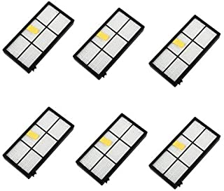 6PC Replacement Hepa Filter For iRobot Roomba 800 series 870 880