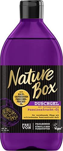 Nature Box Duschgel Passionsfrucht-Öl, 6er Pack(6 x 385 ml)