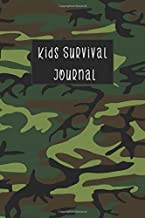 Kids Survival Journal: Children's Sports Activity Status and Camp Tracking Log Notebook, Blank Lined Template Guide Notepad, For Young Teen Boys and Girls (Kids Personal Condition Tracker)