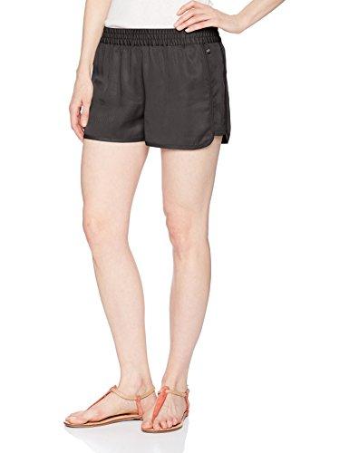 Fox Damen Back IN The Saddle Twill Legere Shorts, Schwarz Vintage, Groß