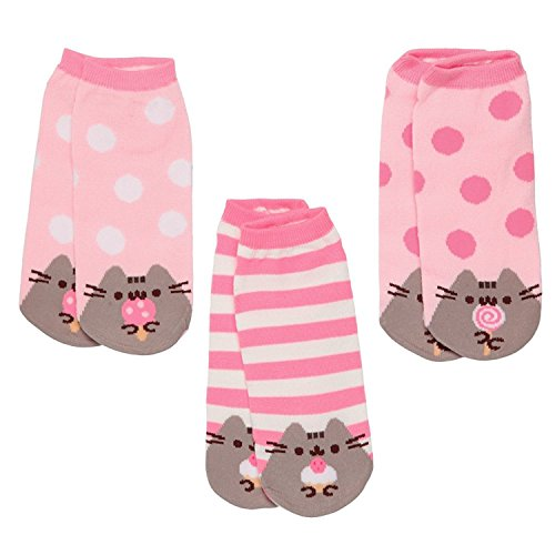 Pusheen The Cat Socks - Ladies Size 6 to10 - 3 pair