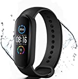 Smart Watch Fitness Trackers con Monitor de Ritmo cardíaco Contador de...