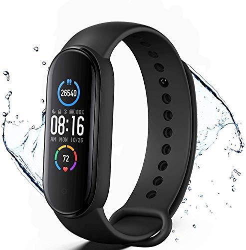 Smart Watch Fitness-Tracker mit Herzfrequenzmesser Schritt Kalorienzähler Schlafmonitor, IP67 wasserdichte Smartwatch 1,3