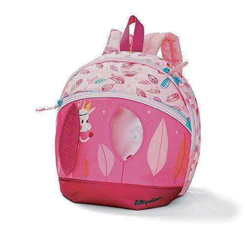 Lilliputiens 86900 Rucksack Louise für Kinder, rosa, ca. 25x25x13 cm
