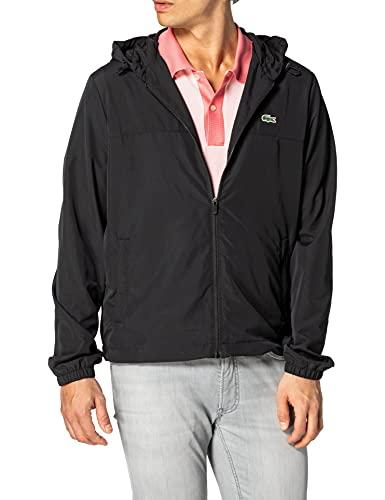 Lacoste BH9801 Men's Jacket, Black, S/M para Hombre