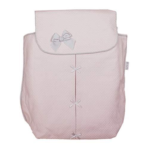 Cubre capazo Universal para Capazo o cochecito de bebé Rosy Fuentes en color rosa