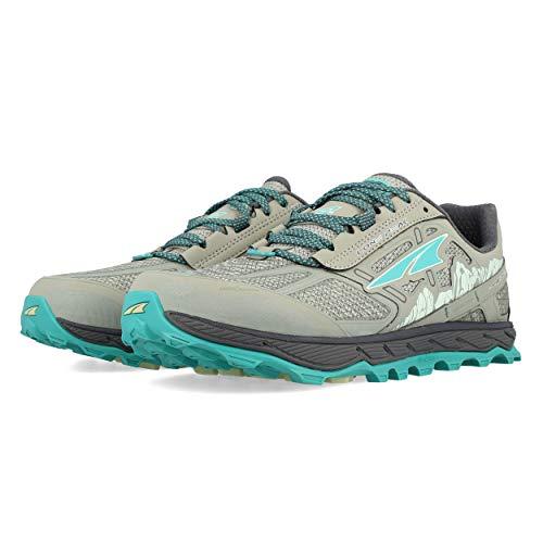 ALTRA Women's ALW1855L Lone Peak 4 Low RSM Waterproof Trail Running Shoe, Grey - 6 M US