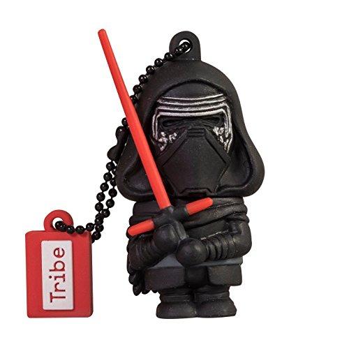 Clé USB 16 Go Kylo Ren - Mémoire Flash Drive 2.0 Originale Star Wars, Tribe FD030503