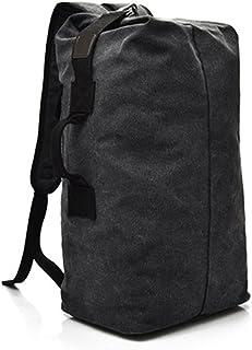 Dengyujiaasj Backpack, 35L Hiking Backpack , Canvas Outside Backpack ,Tactical Hiking Encampment Travel Bag, Gym Fitness S...