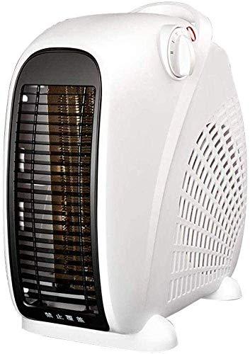 BBJOZ Hornos chimeneas Calentador eléctrico portátil de convección Calentador de Agua Calentador Estufa - Protección contra sobrecalentamiento de Ahorro de energía silencioso baño Chimenea