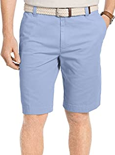 IZOD Men's Flat Front Washed Chino Short