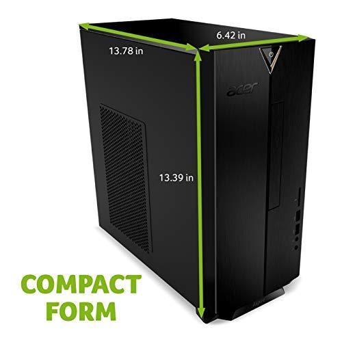 Acer Aspire TC-390-UA92 Desktop, AMD Ryzen 5 3400G Quad-Core Processor, AMD Radeon RX Vega 11 Graphics, 12GB DDR4, 512GB NVMe M.2 SSD, 8X DVD, Wi-Fi 5, Windows 10 Home