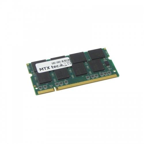 Arbeitsspeicher 1GB RAM für IBM Lenovo ThinkPad T42p (2373) mit Speichereinbauanleitung für beide Steckplätze passt auch ins das ThinkPad T40 Serie, T40P Serie, T41, T41P, T42, T42P und baugleiche
