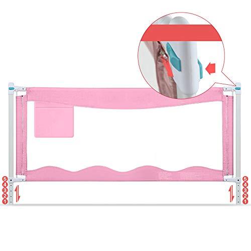 Barrières de lit LHA latérale pour bébé, barrière de sécurité incassable bébé (Taille : L-180cm)