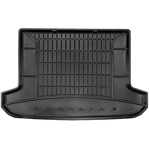 DBS Tapis de Coffre Auto - sur Mesure - Bac de Coffre pour Voiture - Rebords Surélevés - Caoutchouc Haute qualité - Antidérapant - Simple d'entretien - 1766557