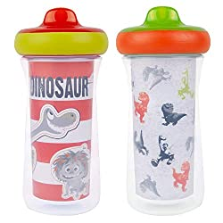 1. The First Years Disney Pixar The Good Dinosaur 9 Oz Insulated Sippy Cup (2-pack)