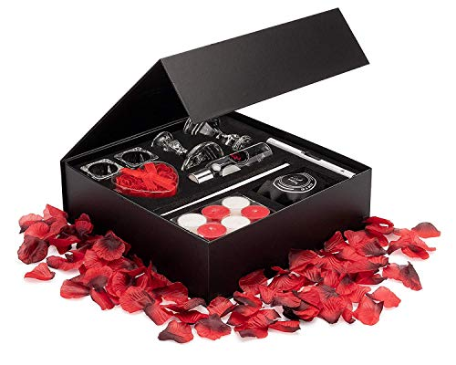 Romance Helpers Romance-in-a-Box Romantic Gift Box Romantic Decorations for Special Night   Romantic Basket with...