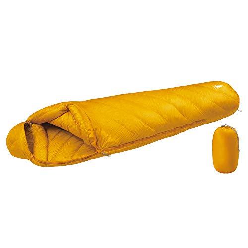 モンベル(mont-bell)寝袋アルパインダウンハガー800#2サンフラワー(SUF)R/ZIP#1121374