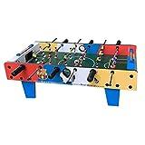 ZHSHZQ Juguete Interactivo for la Educación de Historieta de la máquina Futbolín de Madera for niños - Mesa de fútbol