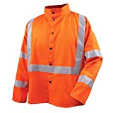 Revco JF1012-OR-L Orange FR Weld Jacket Lrg w/Pass Through