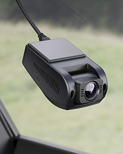 """AUKEY Dash Cam FHD 1080p Car Camera Supercapacitor 170 Degree 6-Lane Wide Angle Lens Dashboard Camera Recorder with G-Sensor, WDR and Motion Detection, Use 15% off clip and Promocode """"YU7LVEKW"""""""