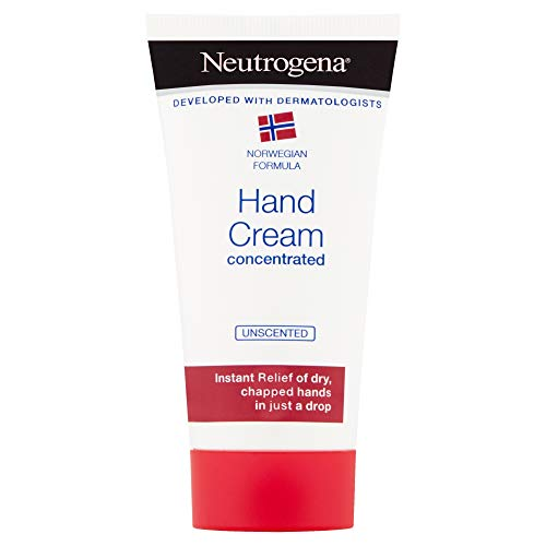 Neutrogena Hand Cream Concentrated Unscented For Very Dry Chapped Hands 75 milliliters