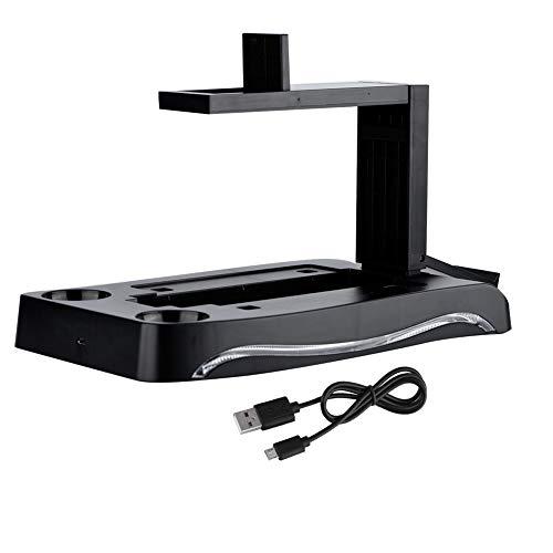 Fendysey per Dock di Ricarica PS4 Playstation, Playstation Facile da installare per Supporto PS4, per PS4 VR per Gioco per casa per Altre periferiche di Gioco