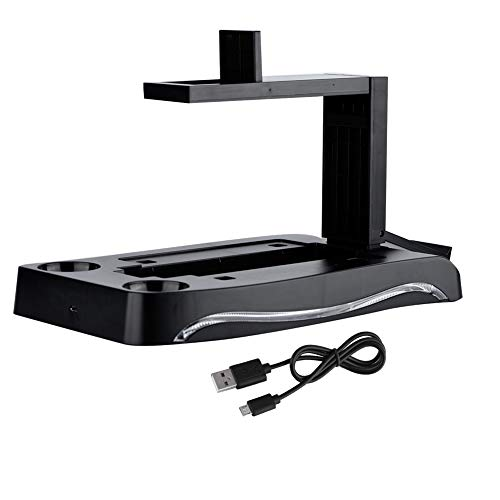 Jimfoty pour PS4 Charging Dock Playstation, Charging Dock Controller, Facile à Utiliser Facile à Installer pour PS4 VR pour d'autres périphériques de Jeu